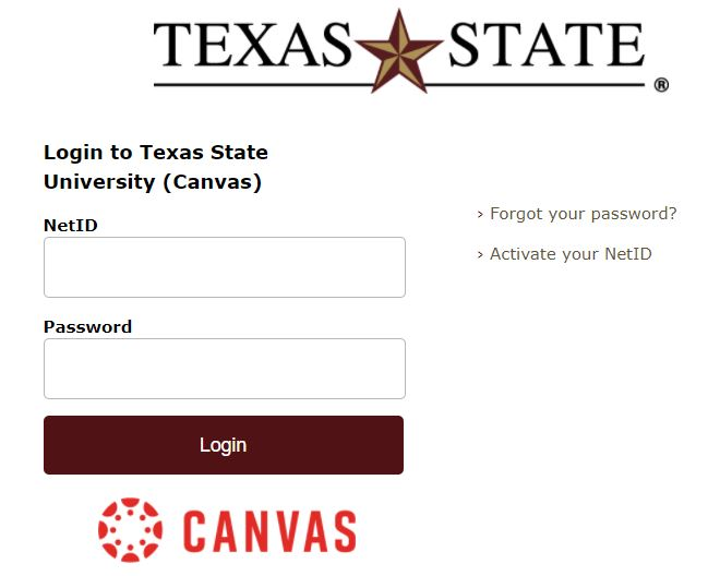 texas state Canvas
