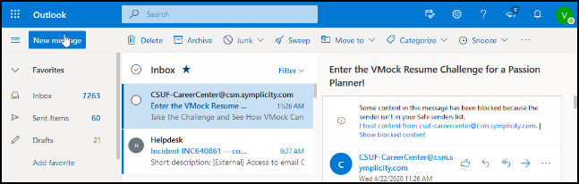 csuf email login